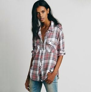 Rails x Free People Plaid Shirt